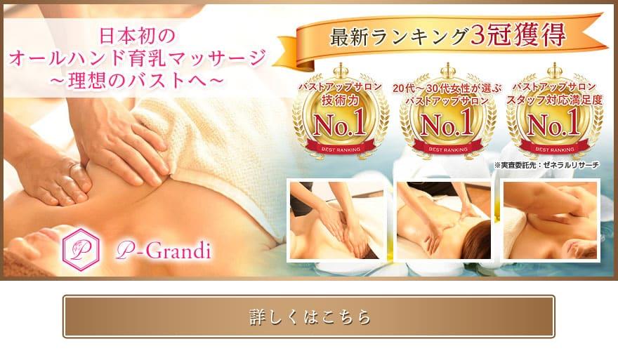 日本初のオールハンド育乳マッサージ 理想のバストへ